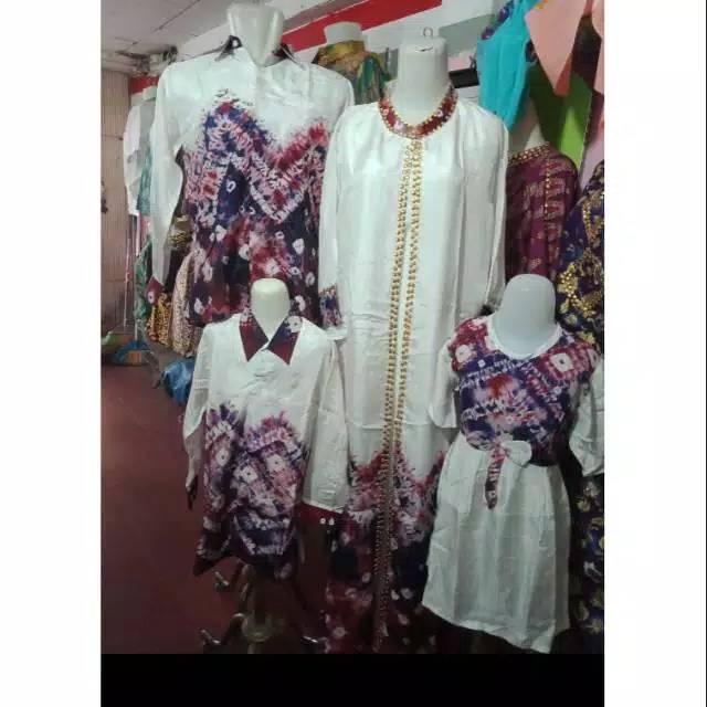 Model Baju Gamis Bahan Jumputan Palembang Hijabfest