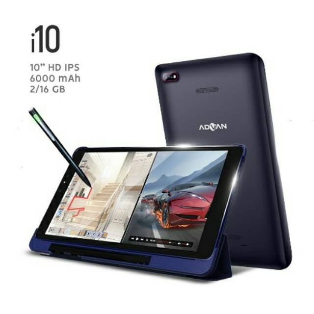 Advan Vandroid i10 Tablet 4G LTE - 2GB/16GB - Garansi Resmi | Shopee Indonesia