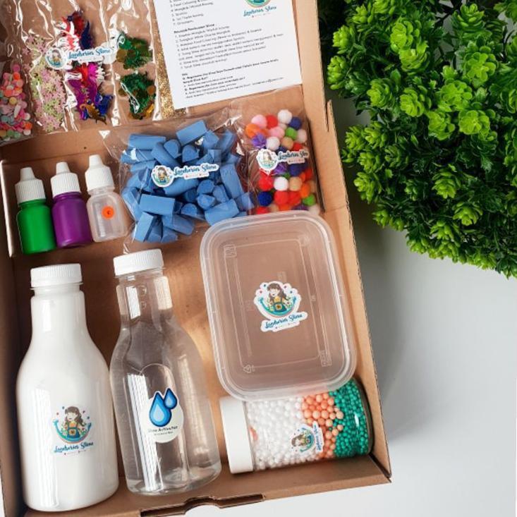 SUPER MURAH  DIY Mini Slime Kit by Landseries Slime | Bahan Slime