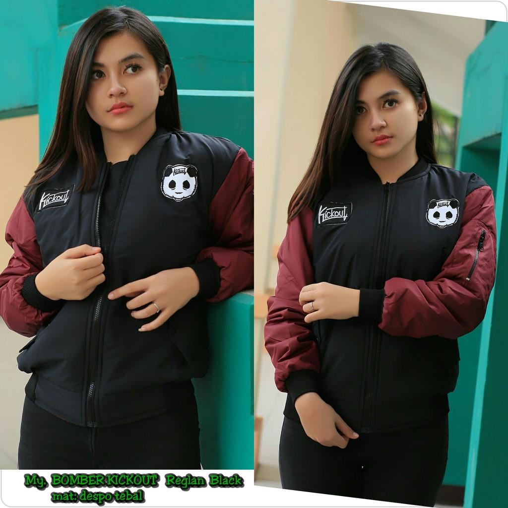 Jaket Bomber Despo Premium Shopee Indonesia Roundhand Secker Sweater Sj0015