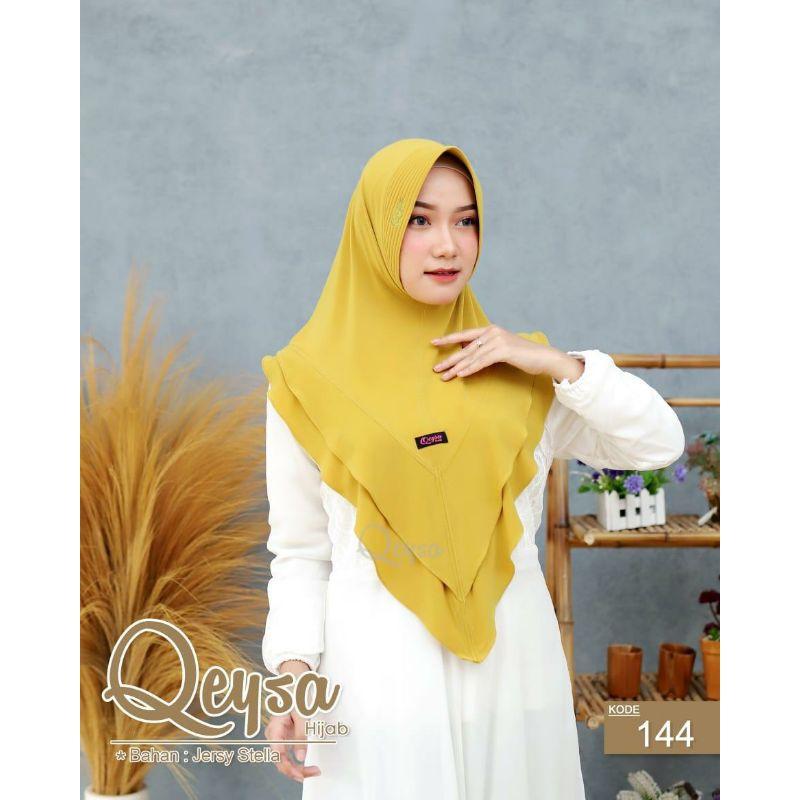 Qeysa Original / Qeysa Hijab kode 144 / Qeysa V tumpuk