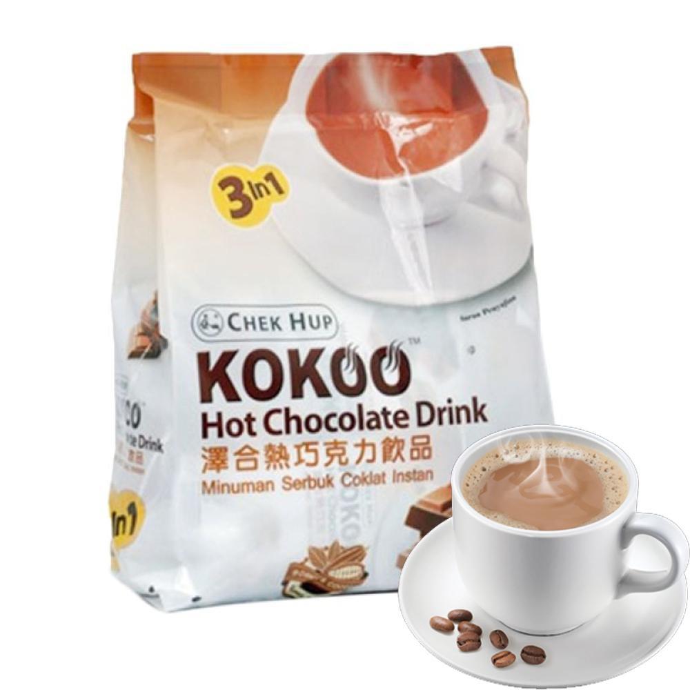 Chek Hup Kokoo Hot Chocolae Drink Shopee Indonesia Fs Chocolatos Rasa Matcha Latte 26gr Daca5