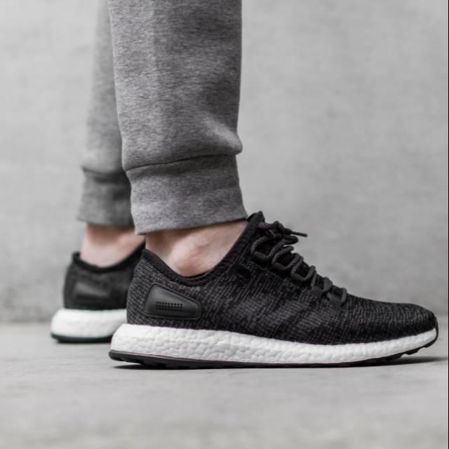 adidas pure boost black