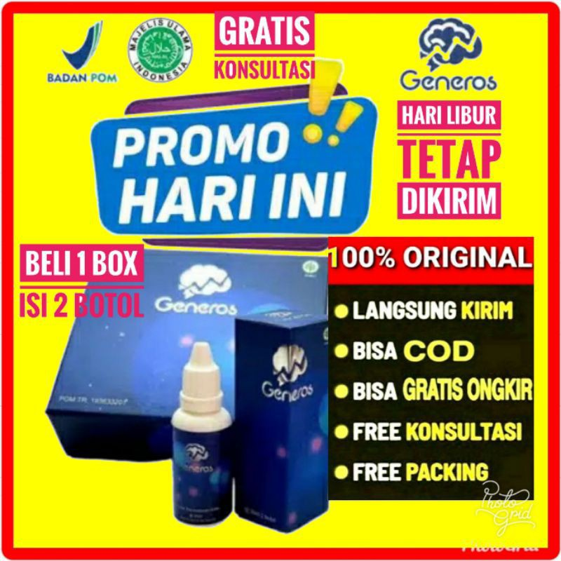 COD BELI 1 BOX DAPAT 2 GENEROS SPEECH DELAY ORIGINAL ...