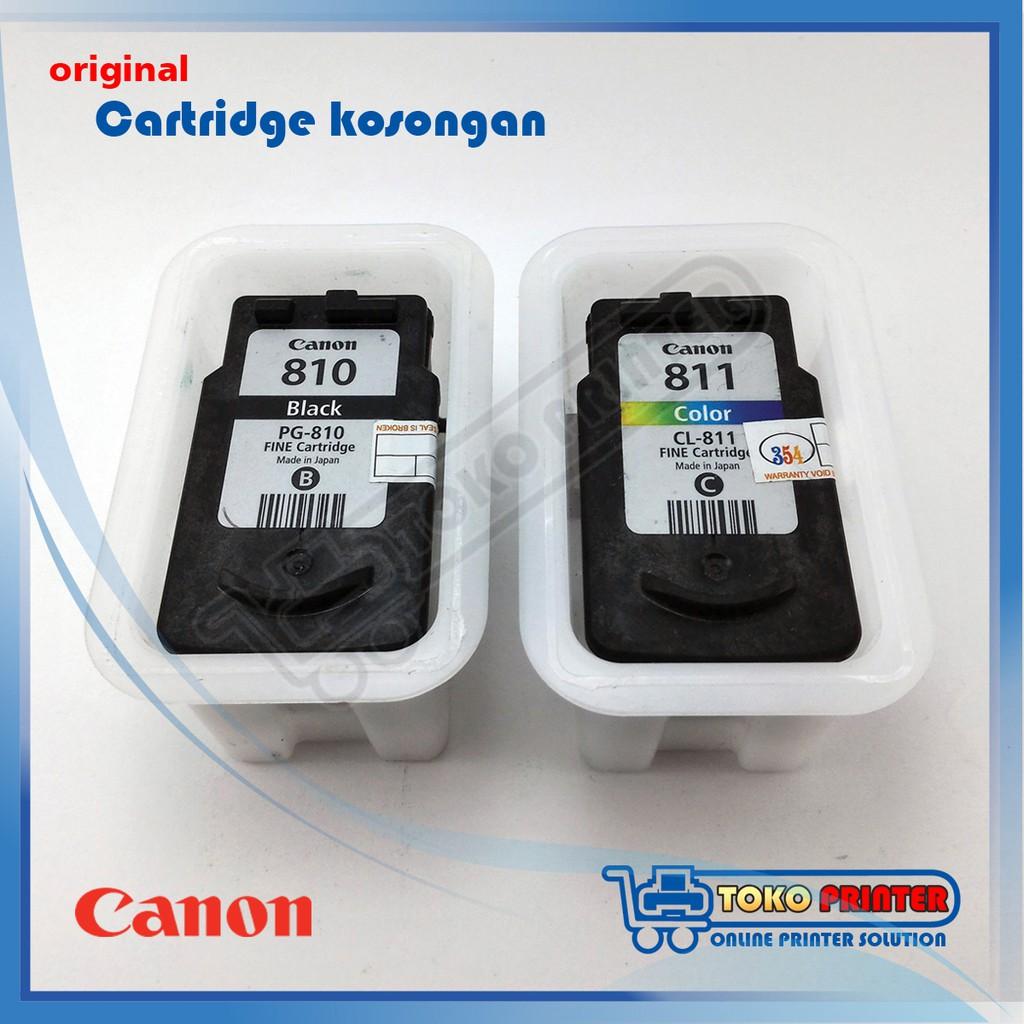Cartridge Refill Canon Cl 811 Warna Tinggal Pakai Catridge Cl811 Colour Catrid Shopee Indonesia
