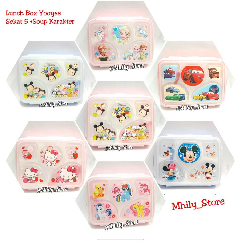 Dapatkan Harga Lunch Box Yooyee Diskon Shopee Indonesia