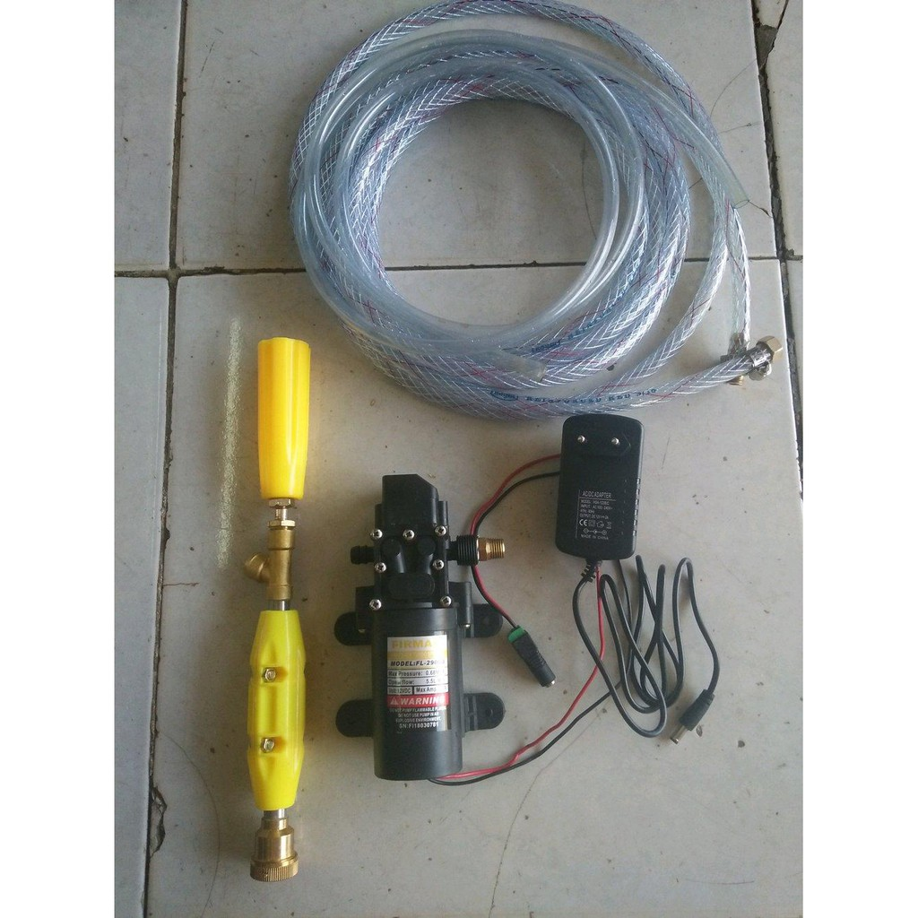 Alat Cuci Motor Portable12 Volt Firman Shopee Indonesia