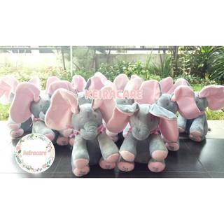 Best Seller Boneka Gajah Cilukba Peekaboo Peek A Boo Elephant Sing Import 84a63cf01c