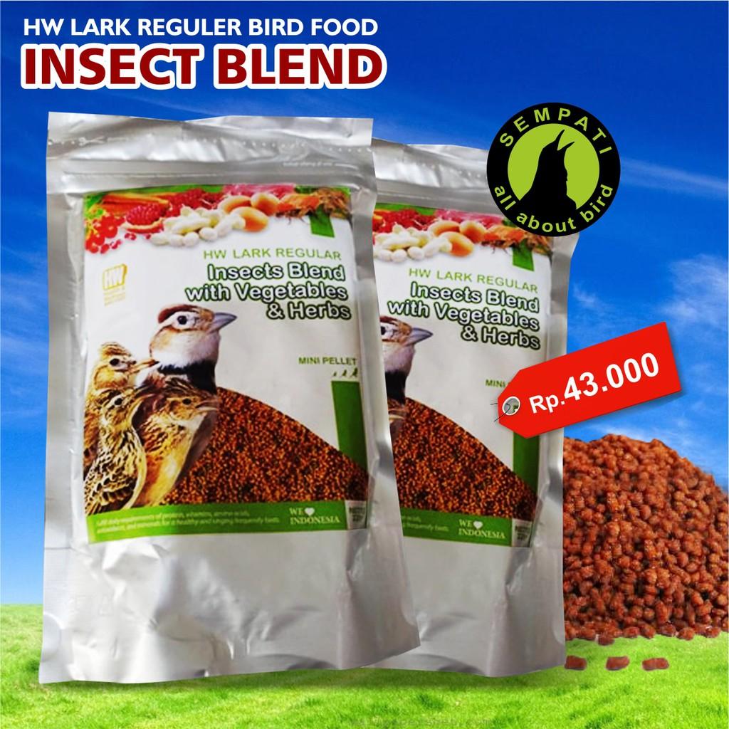 Voerzoo Insect Blend 100gr Pakan Burung Murai Kacer Cendet Gelatik 225gr Batu Ciblek Dll Shopee Indonesia