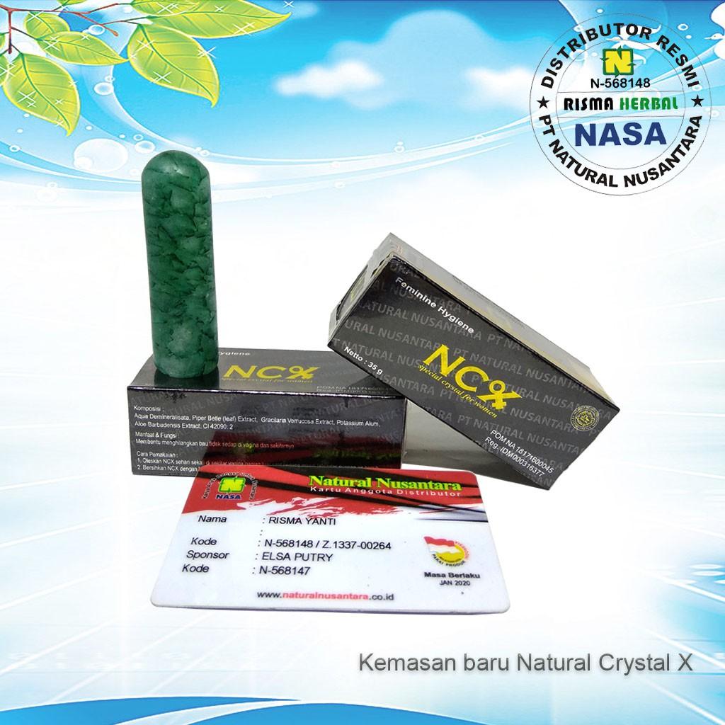 Ncx Crystal X Ori Cristal Asli Kristal Nasa Perawatan Masalah Original Obat Herbal Keputihan Kewanitaan Ampuh Terbaik Shopee Indonesia