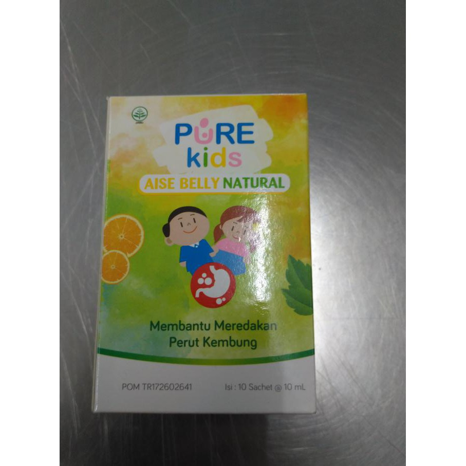 Pure Kids Aise Belly Natural 60ml Shopee Indonesia Purekids