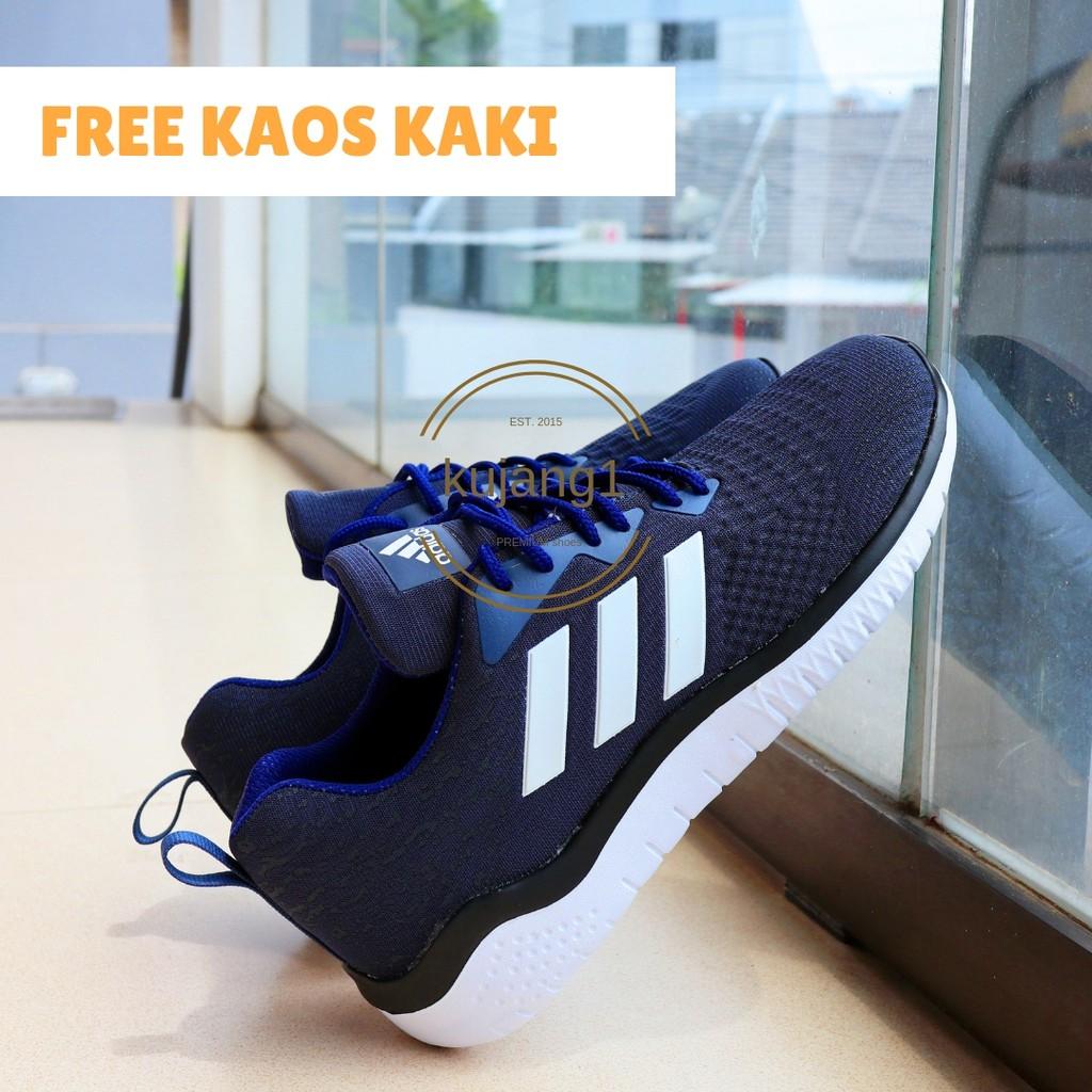 sepatu voli mitzuda light maru iv blue orange + kaos kaki  fde8f60867