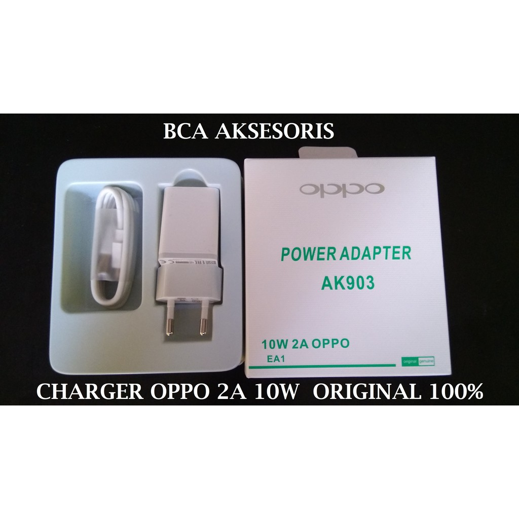 TRAVEL CHARGER USB OPPO 2A - V8 WHITE CASAN ORIGINAL 100% | Shopee Indonesia