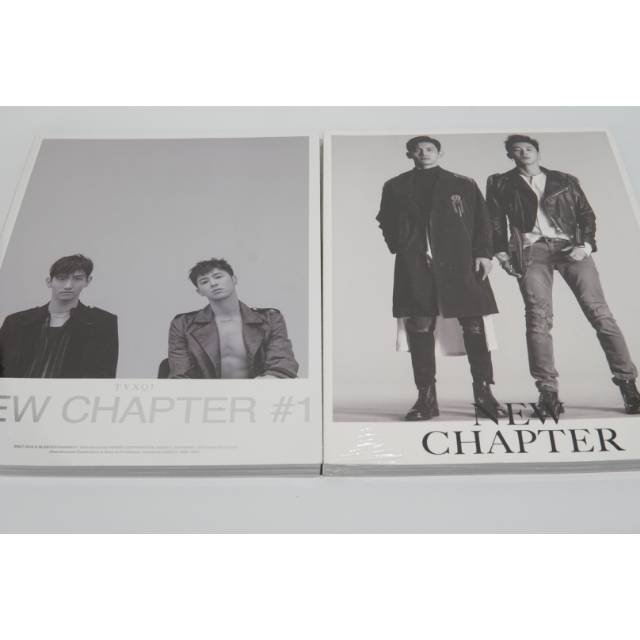 READY STOCK] TVXQ 8th Album - New chapter #1: The Chance of Love