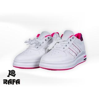 [WOMEN] SEPATU SNEAKERS RAFA TAMARA PUTIH MAGENTA premium imported shoes