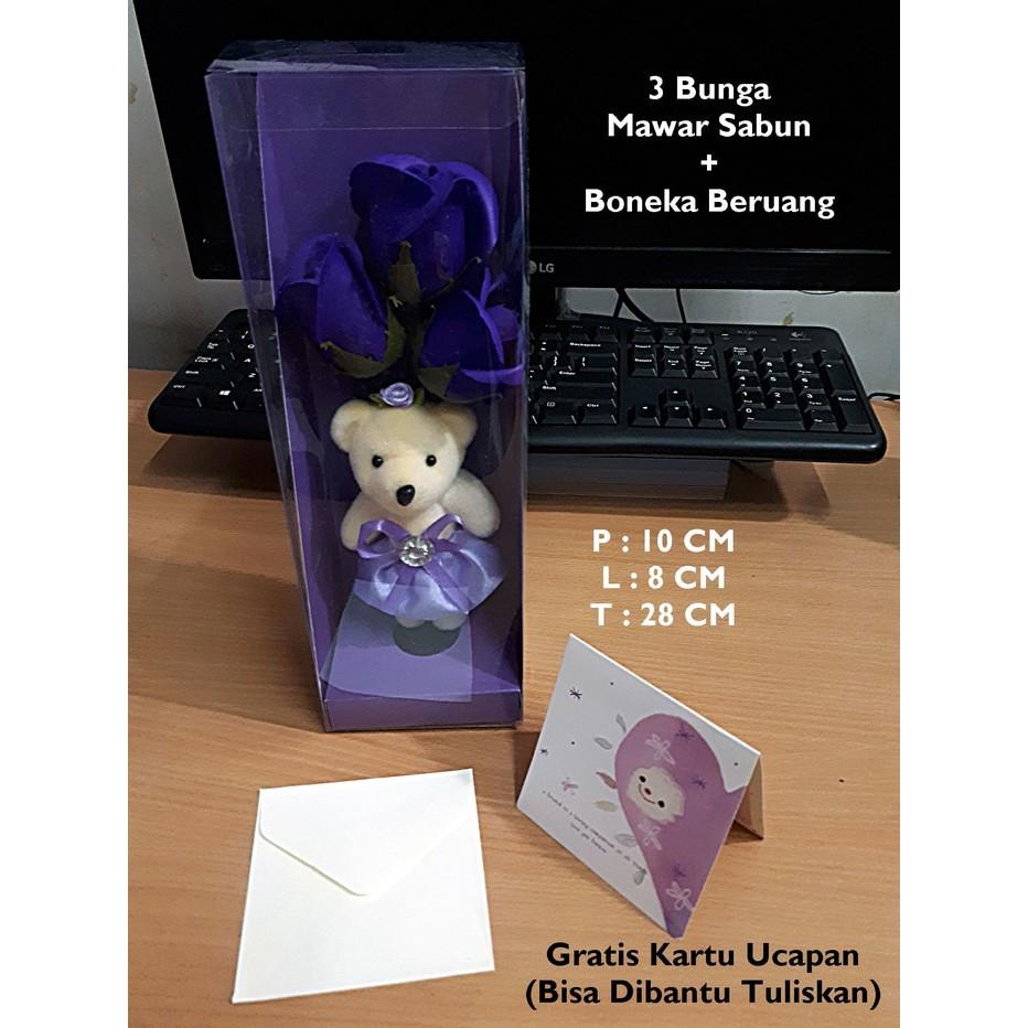 Promo Buket Flower Soap Bunga Mawar Sabun Kado Hadiah Unik Murah Kartu Ucapan Wisuda Ultah Pacar Import Shopee Indonesia
