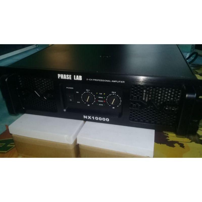 POWER PHASE LAB NX10000 TD CLASS