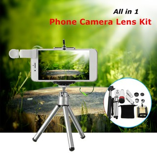 Teleskop Lensa Kamera Smartphone Universal 12 in 1 dengan 8X Zoom | Shopee Indonesia