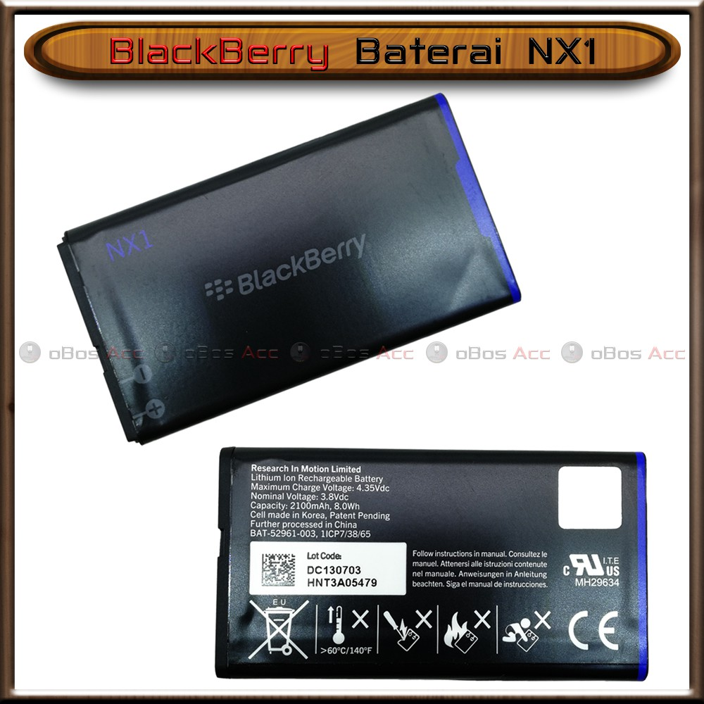 Baterai BB Blackberry Q10 Q 10 NX1 Original Batre Batrai | Shopee Indonesia