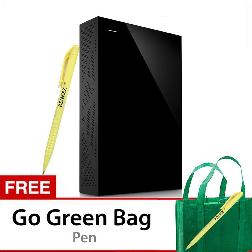 Seagate Expansion 4TB Portable Drive USB 3.0 + Go Green Bag + Pouch + Pen | Shopee Indonesia