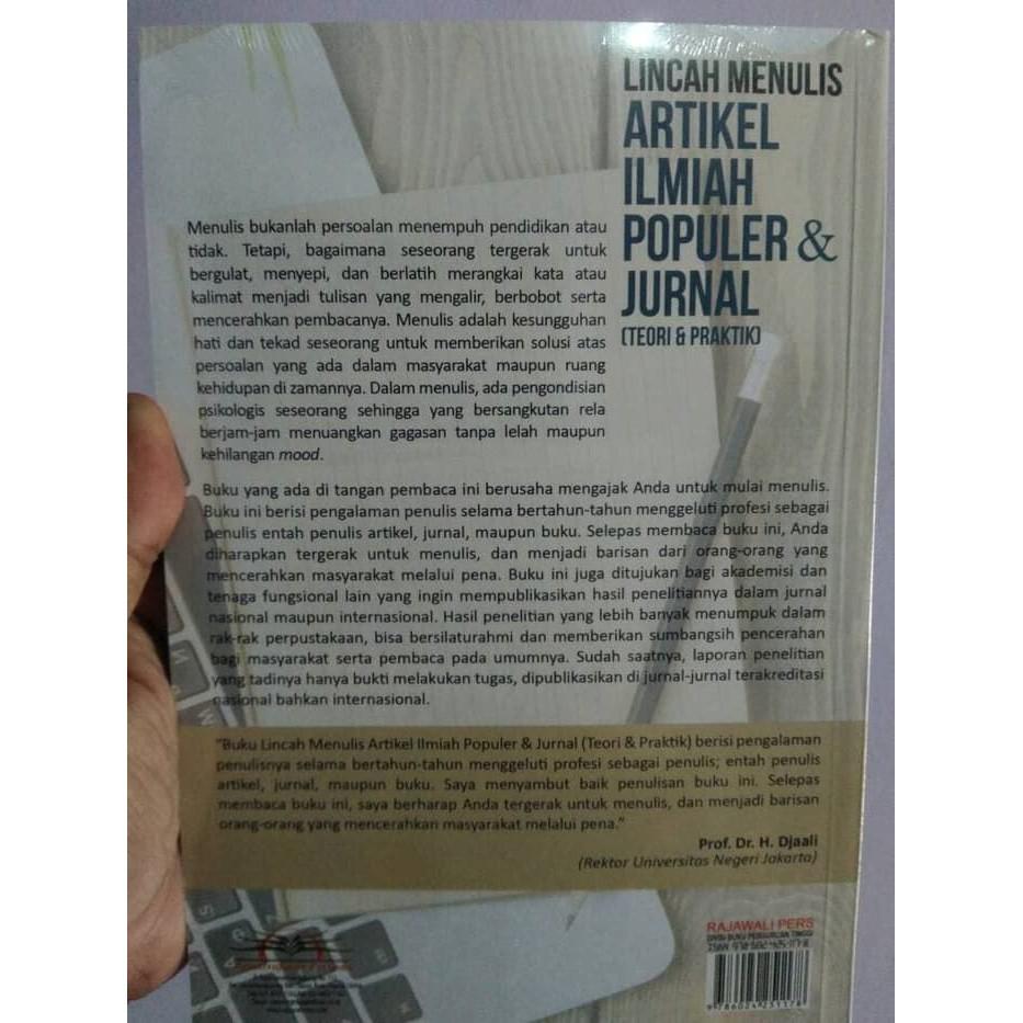 Lincah Menulis Artikel Ilmiah Populer Dan Jurnal Teori Dan Praktik Shopee Indonesia