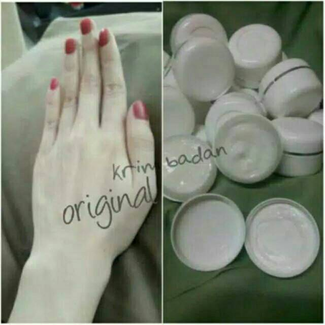 (GRADE A) CREAM BADAN BIBIT PEMUTIH/ Cream Pemutih Badan / Body Cream Racikan | Shopee Indonesia