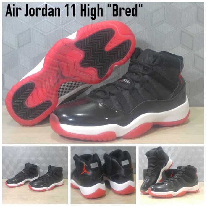 Promo!! Sepatu Basket Nike Air Jordan 1 Bred  cc814db107