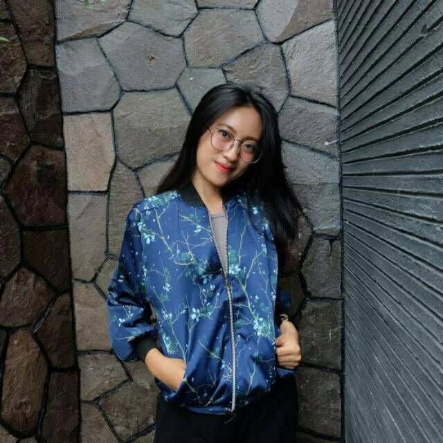 Baju Kemeja Gradien Abstrak Shirt Lengan Panjang Atasan Wanita Motif Abstrac Murah Realpict AF | Shopee Indonesia