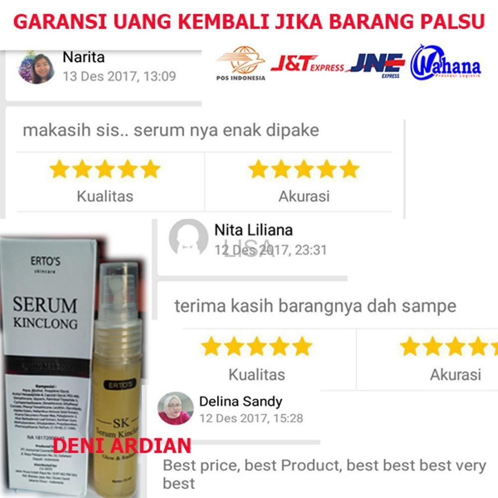 100 Original Facial Treatment Ertos Whitening Pemutih Wajah Airchusion Shopee Indonesia