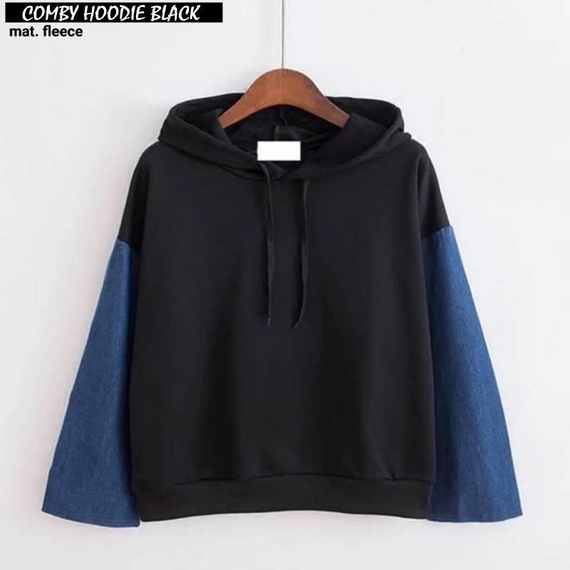 "UST Sweater Jaket ""SF Love Crop"" Lucu Wanita Fleece Baju Santai Murah Keren 2018   Shopee Indonesia"