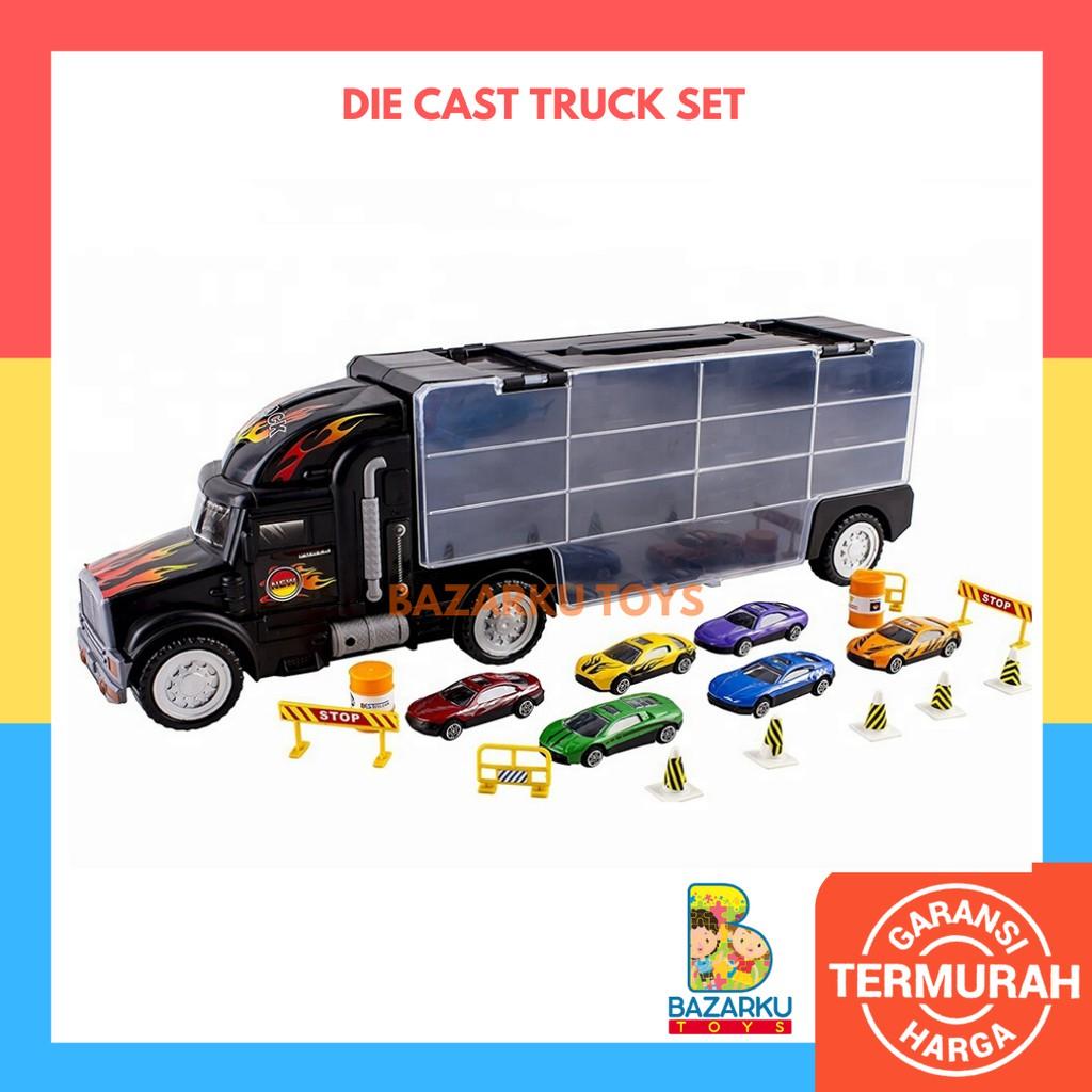 Mainan Anak Die Cast And Truck Set Mainan Mobil Mobilan Anak Mainan Anak Cowok Mainan Anak Laki Laki Shopee Indonesia