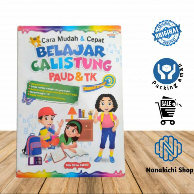 Buku Belajar Anak Paud Tk Cara Mudah Cepat Belajar Calistung Paud Tk Terbukti Efektif Shopee Indonesia