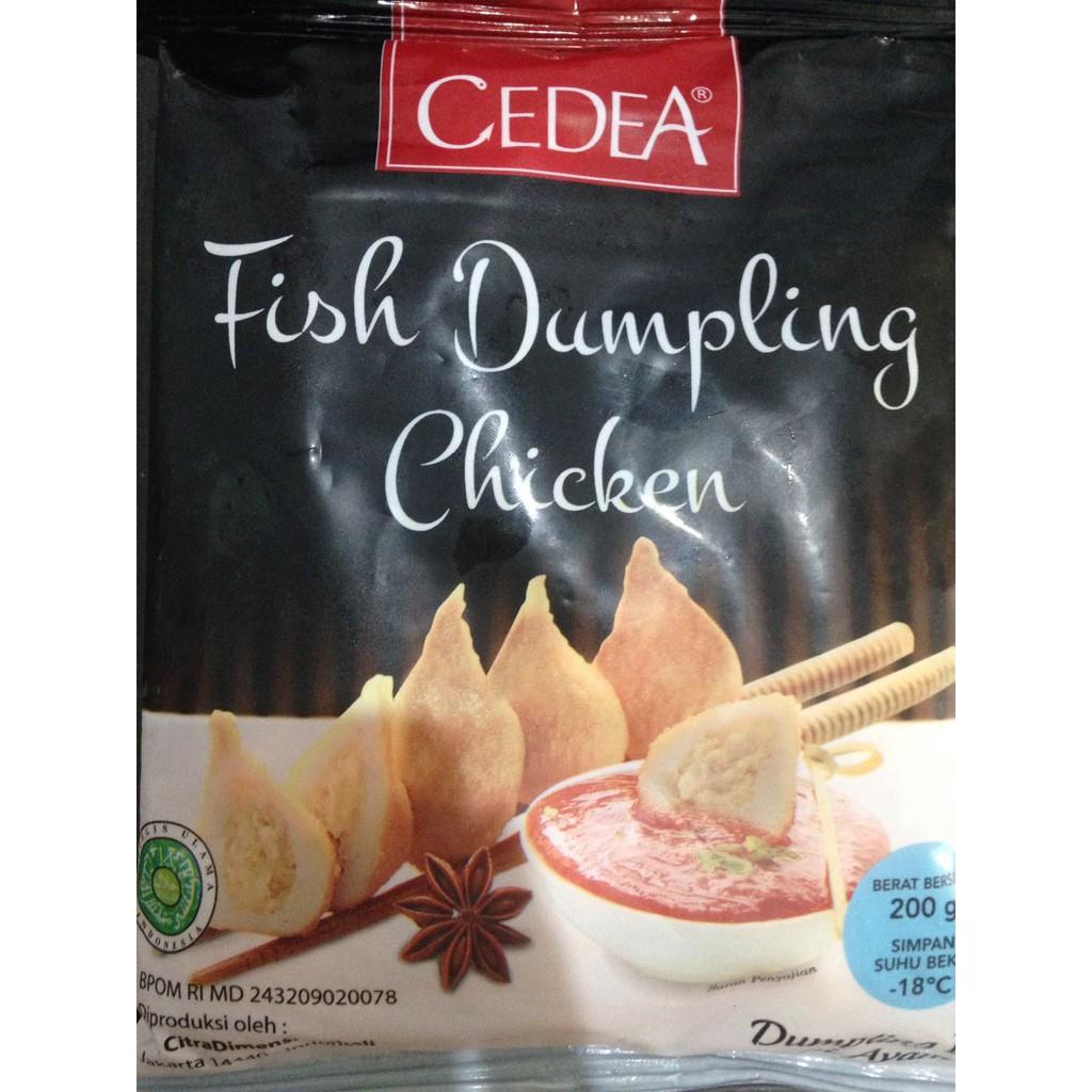Cedea Fish Dumpling Chicken Isi 500 Gr Shopee Indonesia Fronte Sosis Cipolata 400 Gram