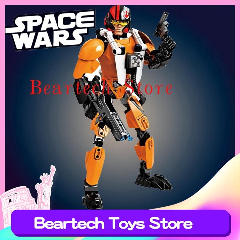 Brand New Lego Star Wars 102pc POE DAMERON Buildable Figure ~Item# 75115~