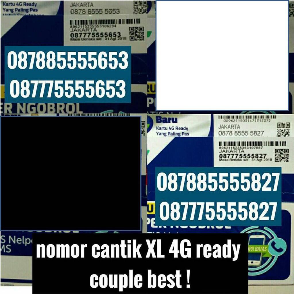 Xl Axiata Nomor Cantik 0878 3300 Daftar Harga Terlengkap Kartu Perdana