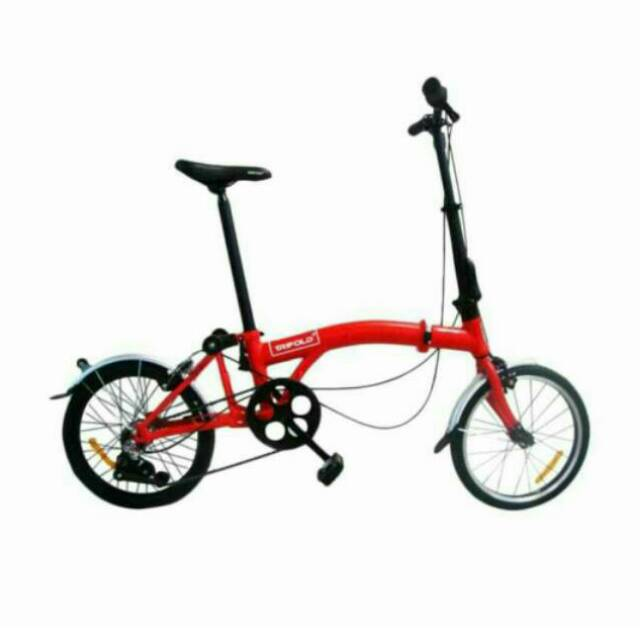 United Trifold 3 Speed Folding Bike 3s Sepeda Lipat Shopee Indonesia