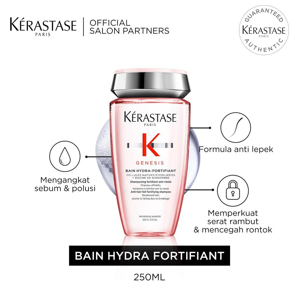 Kerastase Bain Hydra Fortifiant 250ml Shampoo Anti Rontok & Patah-1