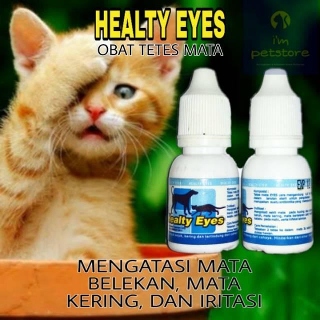 Obat Tetes Mata Kucing Dan Anjing Obat Belek Kucing Dan Anjing Healty Eyes Shopee Indonesia