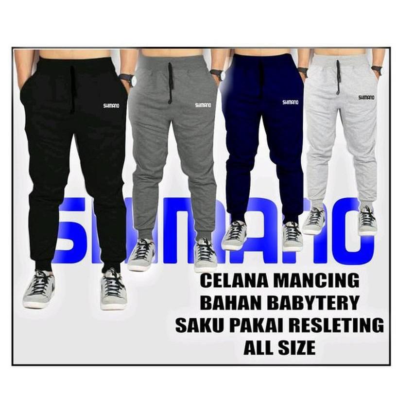 Celana Mancing Joger Mancing Sweetpant Pancing Abg Celana Sepeda Shopee Indonesia