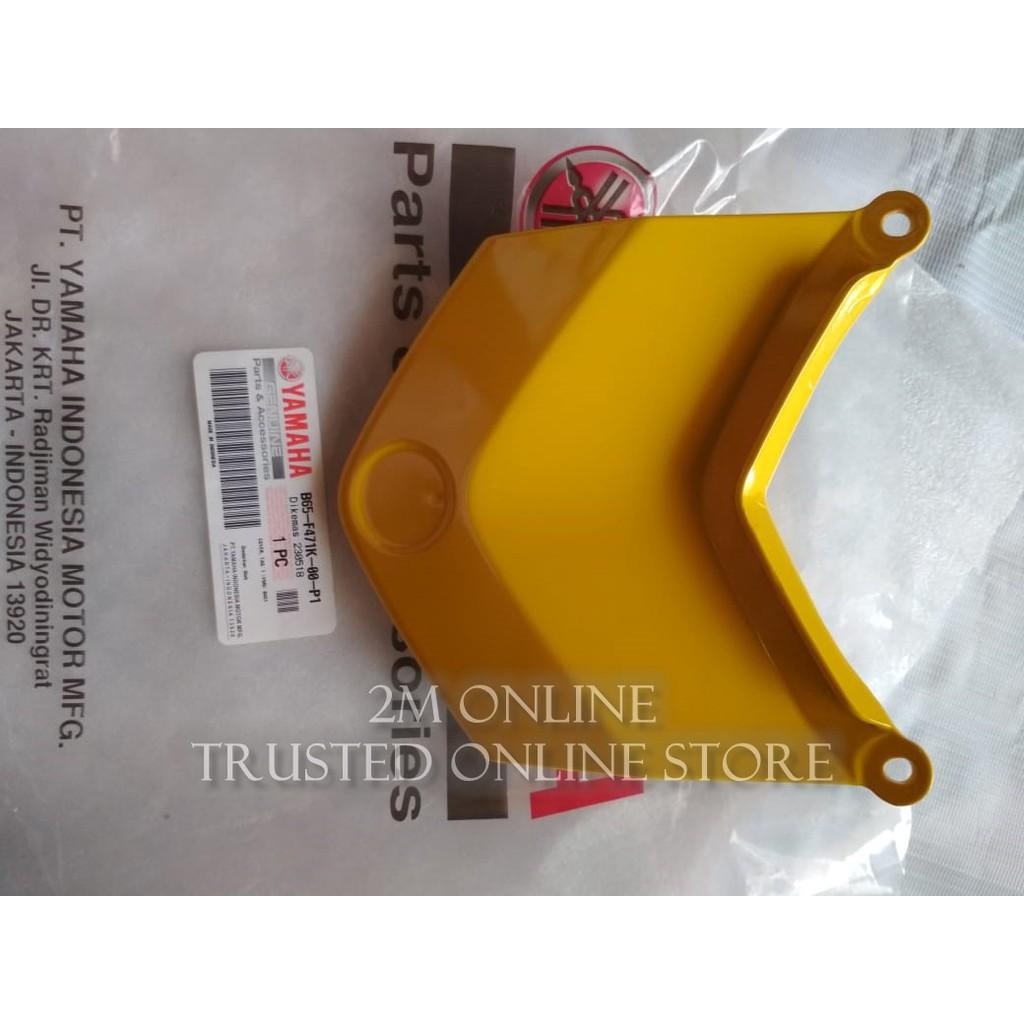 COVER STOP AEROX 155 KUNING YGP B65-F471K-00-P1