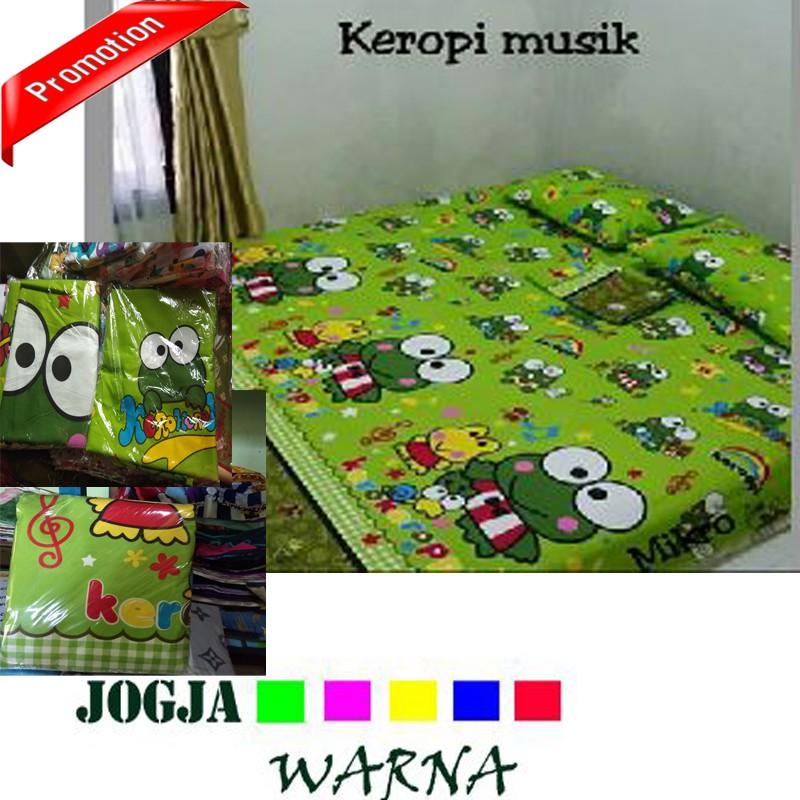 Promo GROSIR ECER 1SET SEPREI KARAKTER LUCU MOTIF KEROPY 200X200 | Shopee Indonesia