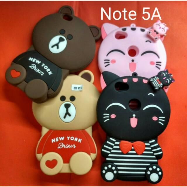 Case 4D 3D Hello Kitty Xiaomi Redmi Note 4X New Karakter Soft Lucu Cute Boneka  Silikon Murah Meriah  a4be96a496