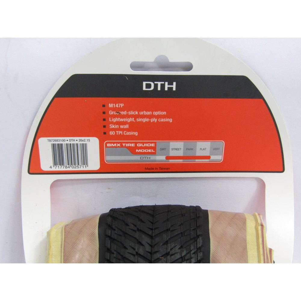NEW Maxxis DTH 26x2.15 Skinwall Tire