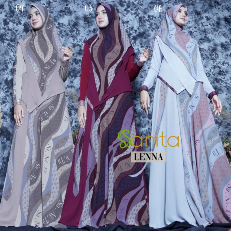 Gamis Set Lenna Syari by Sanita Original