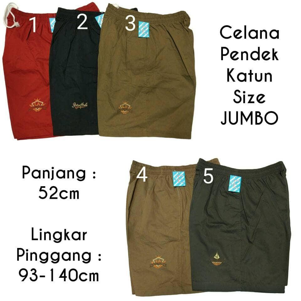 Terlaris Celana Pendek Santai Training Sport Super Jumbo Kolor Polos Big Size 6xl Navy Kcv Shopee Indonesia