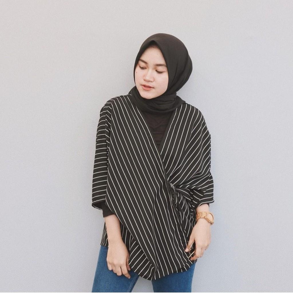 Model Baju Kimono Hijab Free Photo And Wallpaper