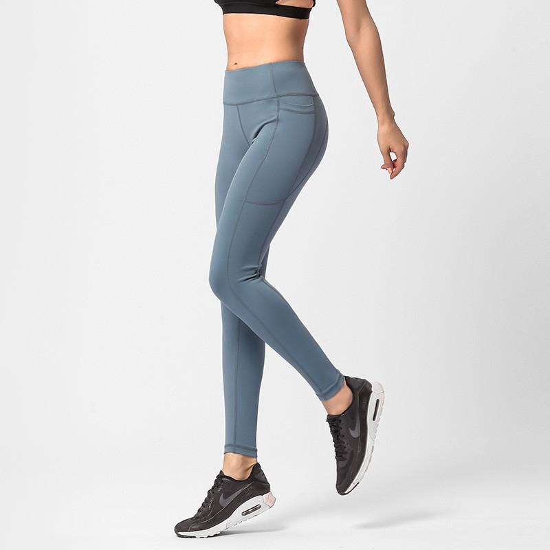 Celana Legging Sport Wanita Model High Waist Push Up Untuk Yoga Fitness Lari Jogging Shopee Indonesia