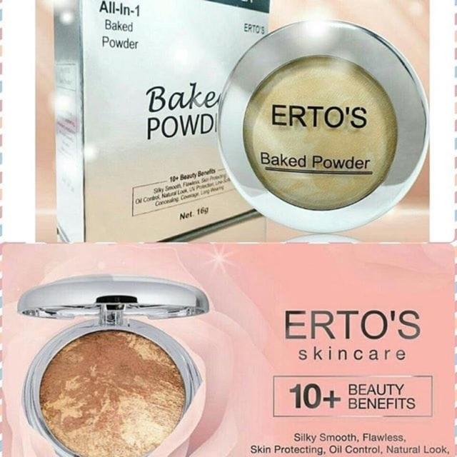 Baked Powder Ertos All In 1 Bpom Ori 100