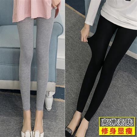 Celana Legging Panjang Model Slim Bahan Modal Tipis Untuk Wanita Shopee Indonesia