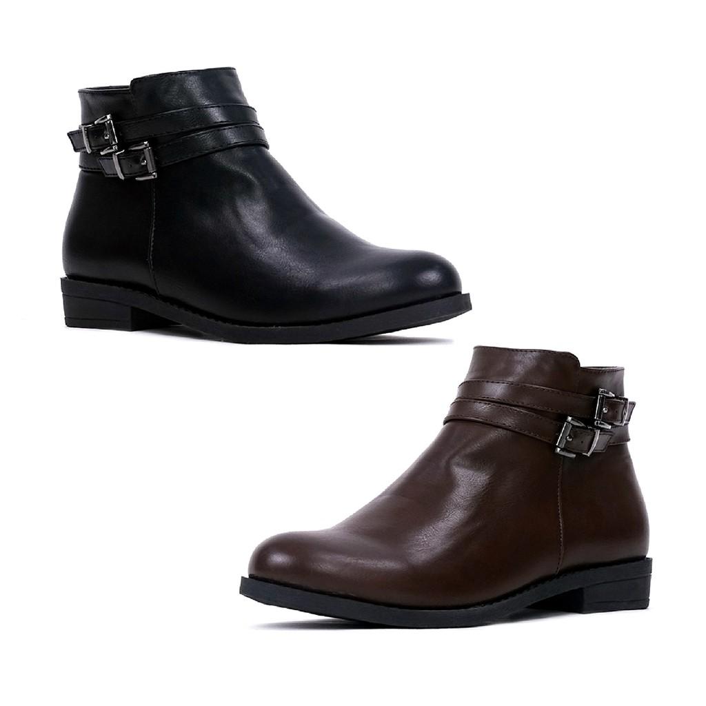 Toko Online Shoesmartid Official Shop Shopee Indonesia Clarette Sneakers Clarissa Black